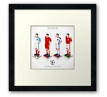 EURO 2016 Championship GROUP B Framed Print