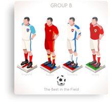 EURO 2016 Championship GROUP B Metal Print