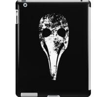 Plague Doctor's mask (Beak doctor) iPad Case/Skin