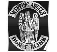 Weeping Angels Don't Blink Poster