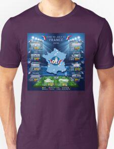 France 2016 UEFA EURO Championship T-Shirt