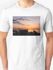 Toronto Skyline Panorama at Sunrise Unisex T-Shirt