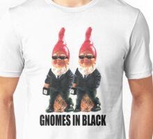 Gnomes in Black Unisex T-Shirt