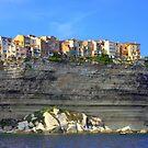 Bonifacio above the sea  by annalisa bianchetti