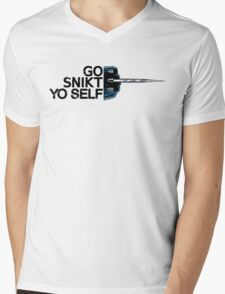 Go Snikt Yo Self Mens V-Neck T-Shirt