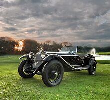 1931 Alfa Romeo 6C 1750 Zagato Spyder by John E Adams