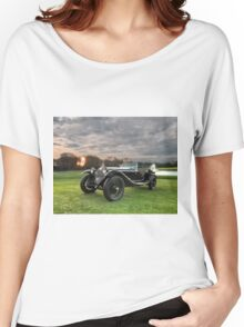 1931 Alfa Romeo 6C 1750 Zagato Spyder Women's Relaxed Fit T-Shirt