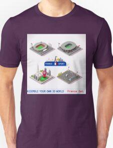 Game Set EURO 2016 France Stadium T-Shirt