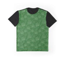 Clover on the green lawn Graphic T-Shirt