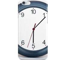 A mad 10 hour clock. Humourous iPhone Case/Skin