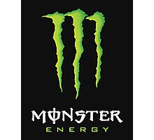 Monster Energy Black Photographic Print
