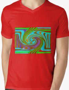 Psychedelic Swirl  Mens V-Neck T-Shirt