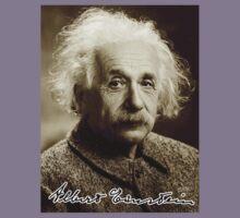 Albert, Einstein, Portrait, signature, Physicist, Genius Kids Tee