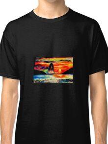 Retro Sunset Classic T-Shirt