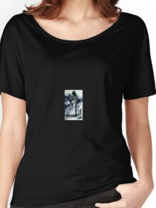 Abstract surrealist painting of person Women's Relaxed Fit T-Shirt