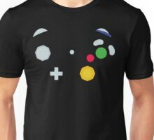 Minimalistic GameCube Controller Unisex T-Shirt