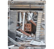 Abandoned Independence Mine Structure (Wasilla, Alaska) iPad Case/Skin