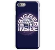 SSE-Bigger on the Inside-Purple iPhone Case/Skin
