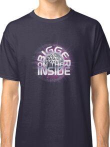 SSE-Bigger on the Inside-Purple Classic T-Shirt