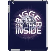 SSE-Bigger on the Inside-Purple iPad Case/Skin
