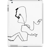 Invisible Piano Man  iPad Case/Skin