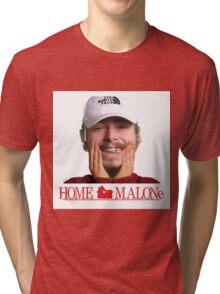 POST MALONE - HOME MALONE Tri-blend T-Shirt