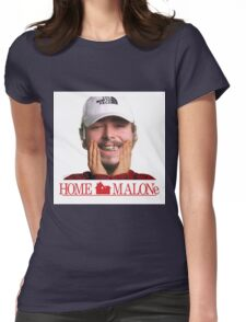 POST MALONE - HOME MALONE Womens Fitted T-Shirt