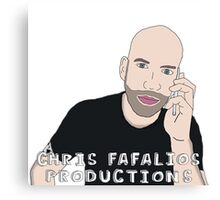 Chris Fafalios Productions! Canvas Print