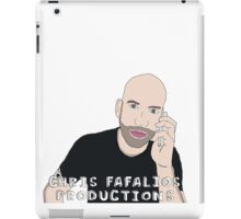 Chris Fafalios Productions! iPad Case/Skin