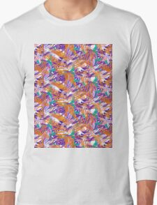 Tropical Brushes Long Sleeve T-Shirt