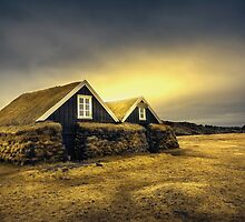 Old Huts by Svetlana Sewell