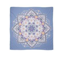 lilac-blue mandala Scarf