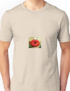 Lips making a heart Unisex T-Shirt