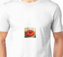 Lips making a heart Unisex T-Shirt