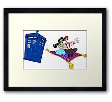 Jasmine & Eleven Framed Print