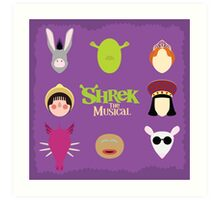 Shrek the Musical Art Print