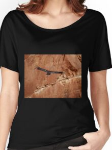 California Condor in the Wild 10 - In Flight Women's Relaxed Fit T-Shirt