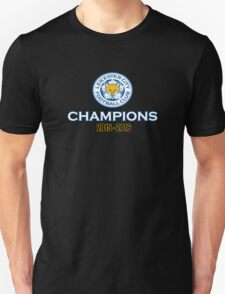 Leicester City The Champions Unisex T-Shirt
