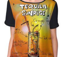 Tequila sunrise Chiffon Top