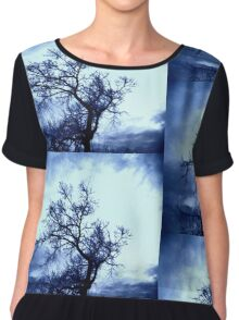Crows Return.... Chiffon Top