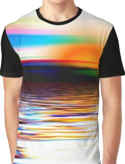 colourful summer sunset Graphic T-Shirt