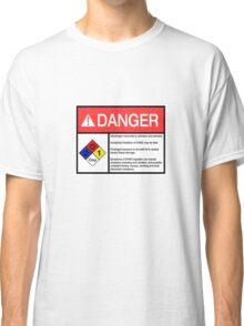 Danger Dihydrogen Monoxide Classic T-Shirt