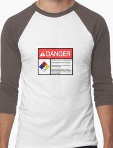 Danger Dihydrogen Monoxide Men's Baseball ¾ T-Shirt