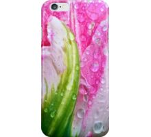 Pink Parrot Tulip iPhone Case/Skin