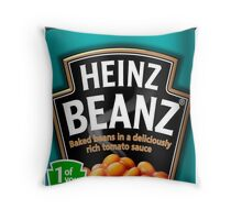 Heinz Beanz Throw Pillow