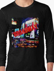 BROADWAY Lights Long Sleeve T-Shirt