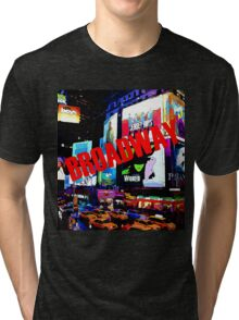 BROADWAY Lights Tri-blend T-Shirt