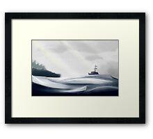 Rocky Shores Framed Print