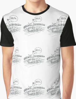 Apathetic Pigeon's Log Flume. Graphic T-Shirt