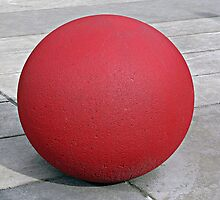 Round and Red 2 by Ethna Gillespie
